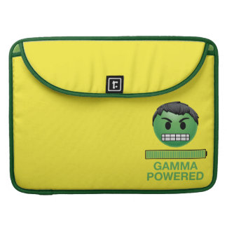 Hulk Gamma Powered Emoji Sleeve For MacBook Pro