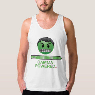 Hulk Gamma Powered Emoji Tank Top