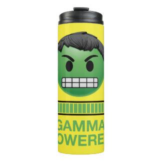 Hulk Gamma Powered Emoji Thermal Tumbler