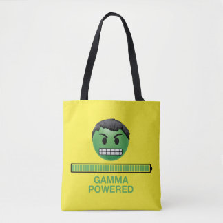 Hulk Gamma Powered Emoji Tote Bag