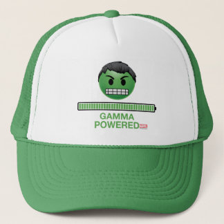 Hulk Gamma Powered Emoji Trucker Hat