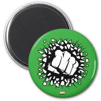 Hulk Icon 2 Inch Round Magnet