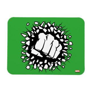 Hulk Icon Rectangular Photo Magnet