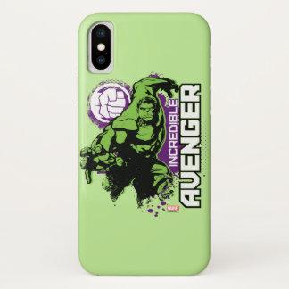 Hulk Incredible Avenger iPhone X Case