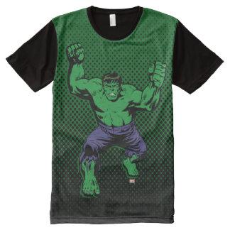 Hulk Retro Arms All-Over-Print T-Shirt