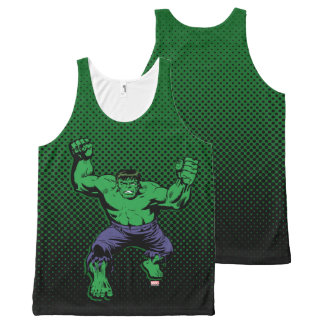 Hulk Retro Arms All-Over-Print Tank Top