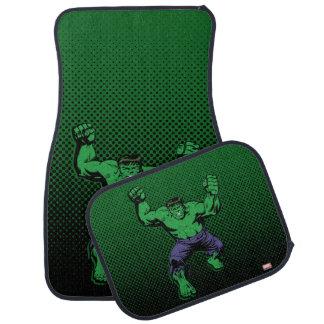 Hulk Retro Arms Car Mat