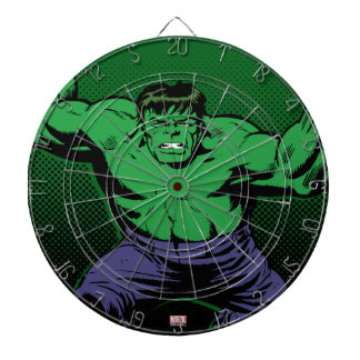 Hulk Retro Arms Dartboard