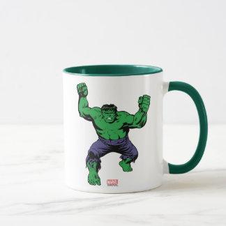 Hulk Retro Arms Mug