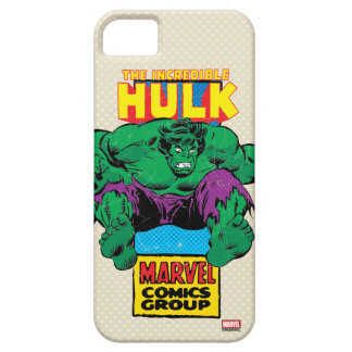 Hulk Retro Comic Character Case For The iPhone 5