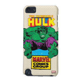 Hulk Retro Comic Character iPod Touch (5th Generation) Cases