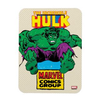 Hulk Retro Comic Character Magnet