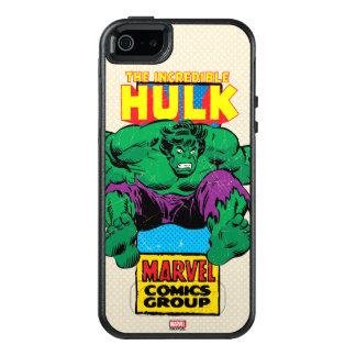 Hulk Retro Comic Character OtterBox iPhone 5/5s/SE Case