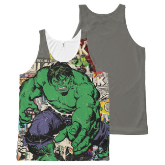 Hulk Retro Comic Graphic