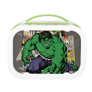 Hulk Retro Comic Graphic Lunch Box