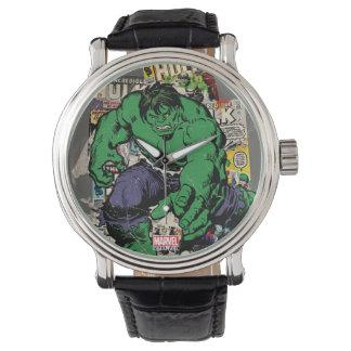 Hulk Retro Comic Graphic Watch