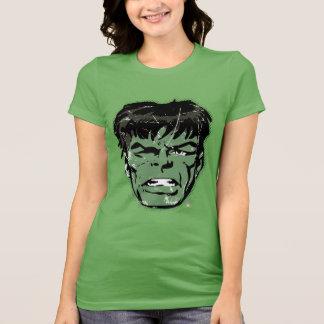 Hulk Retro Comic Halftone Head T-Shirt