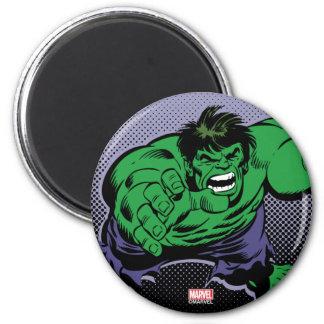 Hulk Retro Dive 2 Inch Round Magnet