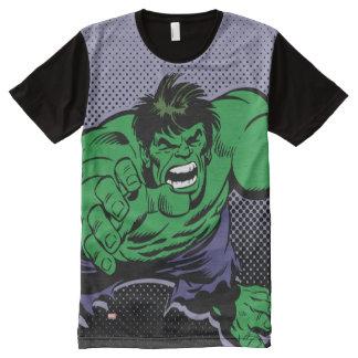 Hulk Retro Dive All-Over-Print T-Shirt