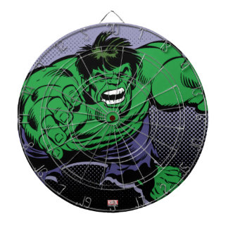 Hulk Retro Dive Dartboard