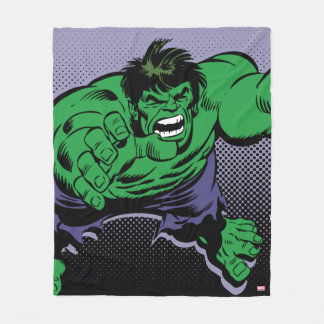 Hulk Retro Dive Fleece Blanket