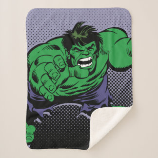 Hulk Retro Dive Sherpa Blanket