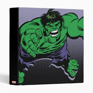 Hulk Retro Dive Vinyl Binder
