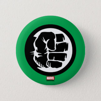 Hulk Retro Fist Icon 2 Inch Round Button