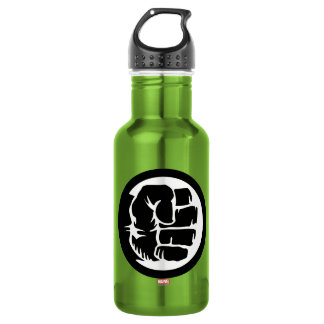 Hulk Retro Fist Icon 532 Ml Water Bottle