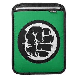 Hulk Retro Fist Icon iPad Sleeve