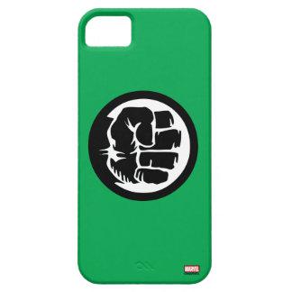 Hulk Retro Fist Icon iPhone 5 Cases