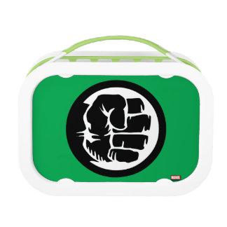 Hulk Retro Fist Icon Lunch Box