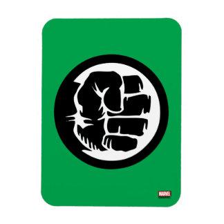 Hulk Retro Fist Icon Magnet
