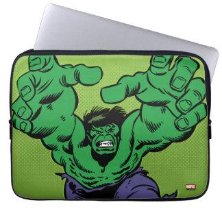 Hulk Retro Grab Laptop Sleeve