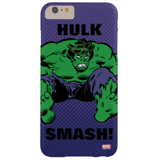 Hulk Retro Jump Barely There iPhone 6 Plus Case