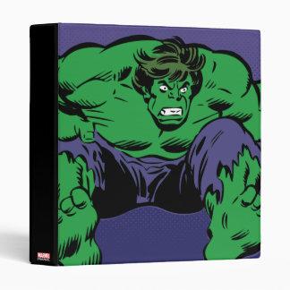 Hulk Retro Jump Binders