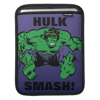 Hulk Retro Jump iPad Sleeve