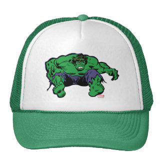 Hulk Retro Jump Trucker Hat