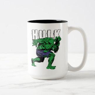 Hulk Retro Lift Two-Tone Coffee Mug