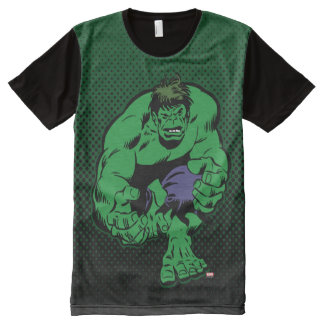 Hulk Retro Stomp All-Over-Print T-Shirt