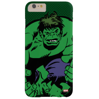 Hulk Retro Stomp Barely There iPhone 6 Plus Case