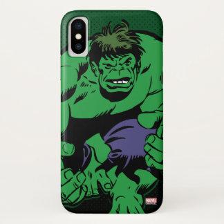 Hulk Retro Stomp iPhone X Case