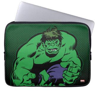 Hulk Retro Stomp Laptop Sleeve