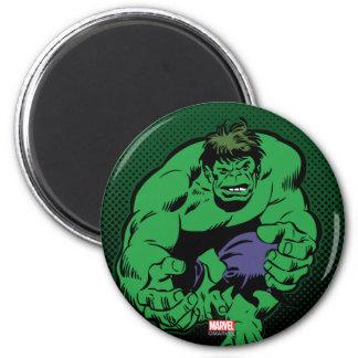 Hulk Retro Stomp Magnet