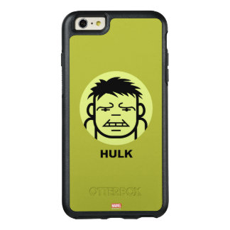 Hulk Stylized Line Art Icon OtterBox iPhone 6/6s Plus Case