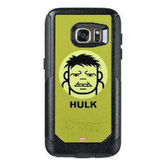 Hulk Stylized Line Art Icon OtterBox Samsung Galaxy S7 Case