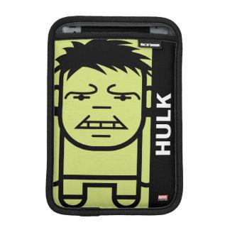 Hulk Stylized Line Art iPad Mini Sleeves
