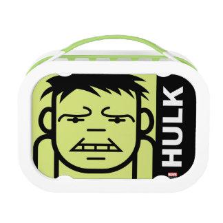 Hulk Stylized Line Art Lunchbox