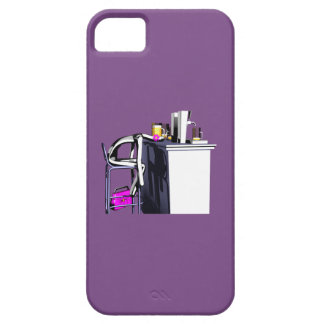 Hull Blows of purple bar woman 2 iPhone iPhone 5 Cover