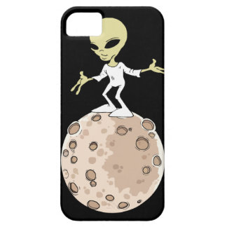 "Hull Iphone 5,5S and SE ""Alien on planet "" iPhone 5 Cases"